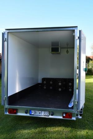 Kühlwagen Ladefläche