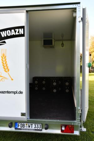 Kühlwagen Türe